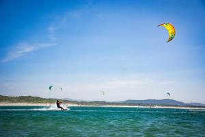 Kiteboarding Cabodelo Beach