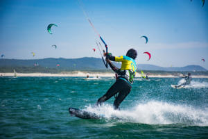 Kiteboarding in Portugal